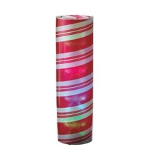 "Midwest 24"" B/O Red White Striped Spiral LED Color Changing Christmas Lantern - $48.25"