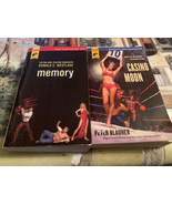 Casino Moon by Peter Blauner & Memory Donald Westlake Hard Case Crime Novel - $19.79