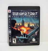 Turning Point Fall of Liberty Sony PlayStation 3 PS3 - $8.99