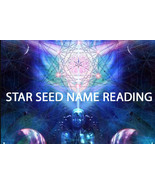 PSYCHIC STARSEED NAME READING REVEAL YOUR NAME CONNECT TO POWER 99 yr C... - $55.77
