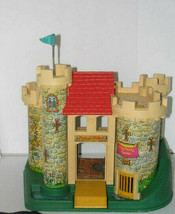 Vintage Fisher-PricePretend Play Castle 1974 - $118.78
