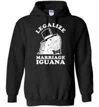 Legalize Marriage Iguana Blend Hoodie - $32.99+