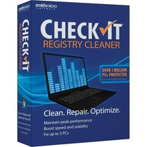 Smith Micro Checkit Registry Cleaner - $999,996.49