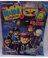 Lego Magazine 2001 Alpha Team New Racers - $3.99