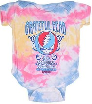 Grateful Dead American Music Hall Tie Dye Infant Baby Romper One Piece 1... - $21.11