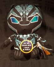 """Marvel Black Panther Erik Killmonger Talking Plush Figure 8"""" - $18.09"""