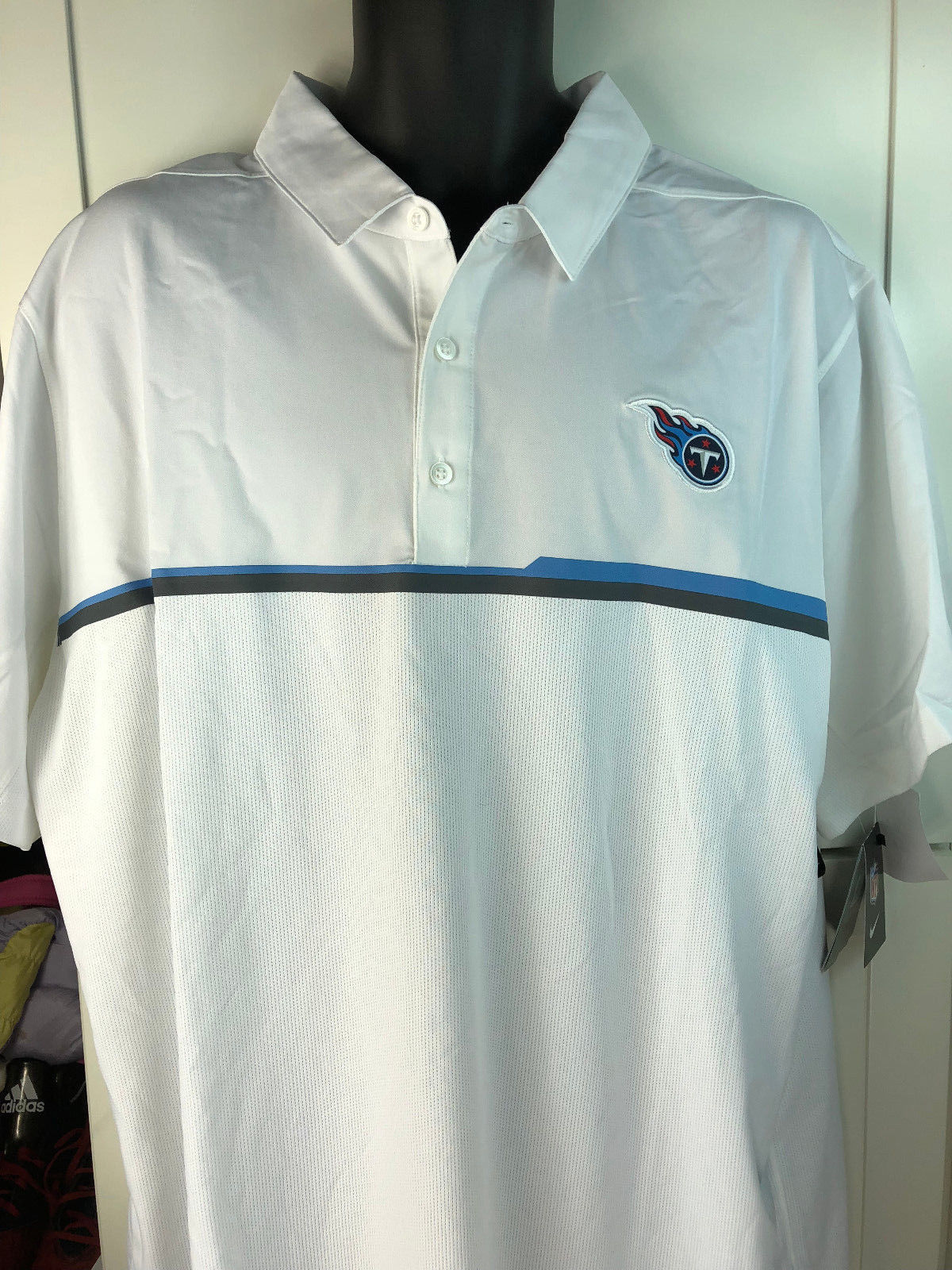 33030816 Tennessee Titans Polo SHIRT- Nike Elite and 50 similar items