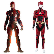 Young Justice League 2017 Barry Allen Ezra Miller Costume Cosplay - £210.20 GBP
