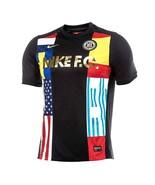 NIKE F.C. TRAINING JERSEY WORLD CUP BLACK SIZE XS BRAND NEW W/TAGS (8868... - $49.55