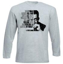 Albert Camus - Don' T Walk Behind Me - NEW COTTON GREY TSHIRT - $20.84