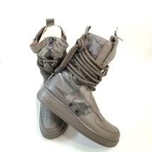 NIKE AIR FORCE 1 SF AIR FORCE 1 HIGH RIDGEROCK Sneaker AA1 128 203 Sz 10... - $97.17
