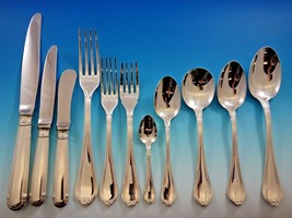 Oceana by Christofle Sterling Silver Flatware Set for 8 Service 95 Pieces Dinner - $14,250.00