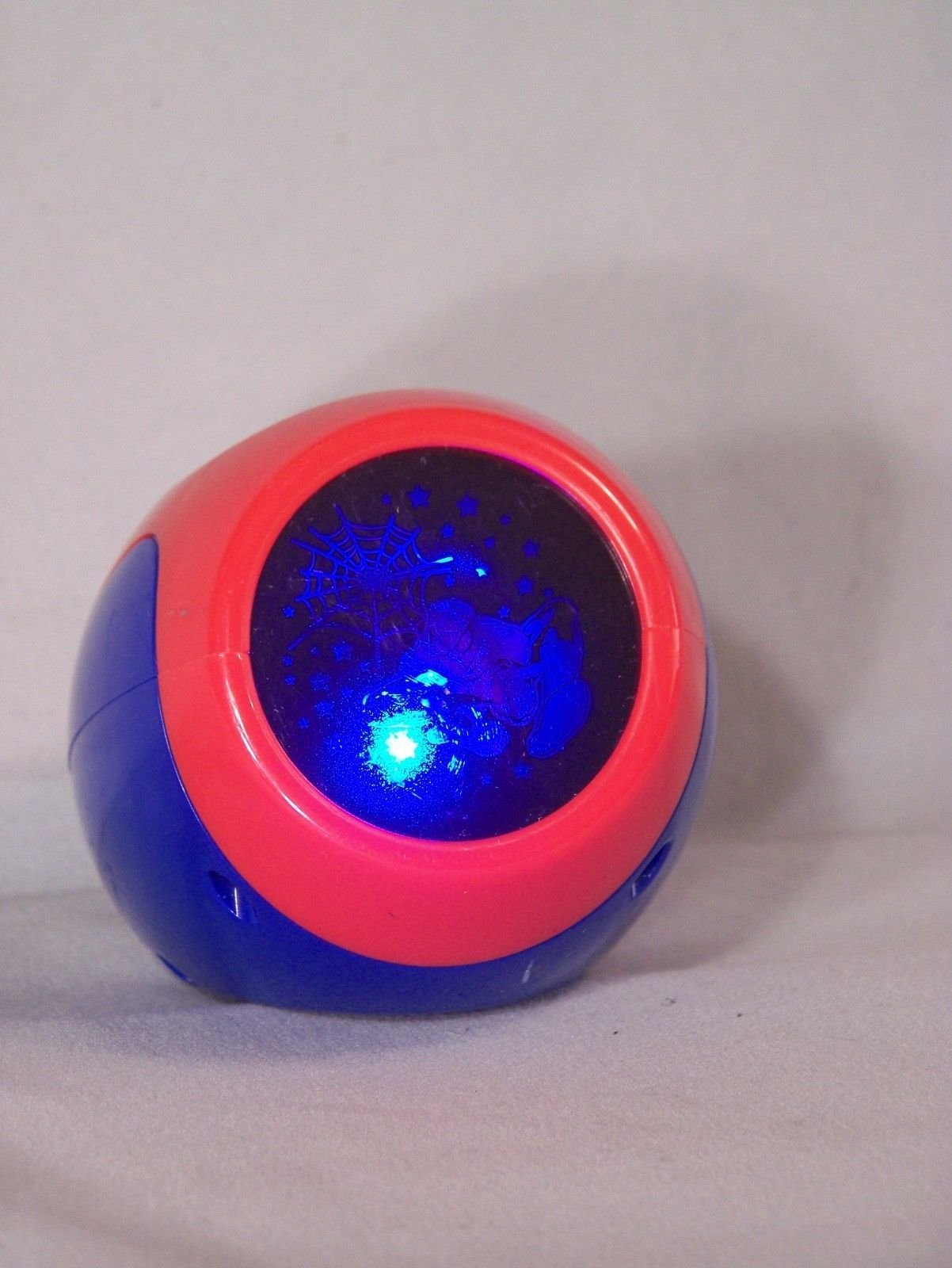 "Blip Toys SPIDER-MAN multi-colored light image projector, approx. 3"" tall"