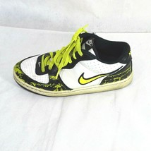 Nike Infiltrator Shoes Boys Size 6Y Athletic 2007 White Black Yellow 312... - $19.79