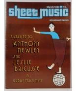 Sheet Music Magazine March 1980 Standard Piano - $3.99