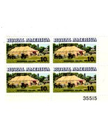 USPS STAMPS - Chautauqua Rural America  Commemorative 10 Cent Stamp Plate Block - $4.00
