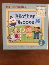 Mother Goose Multiple 4 Piece Puzzles