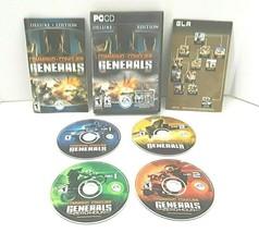 Command & Conquer Generals Deluxe Edition PC 2003 4 Discs Zero  - $37.40