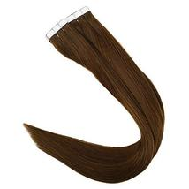 RUNATURE Tape In Real Human Hair Extensions 14 Inches Color 4 Human Hair Tape In image 5