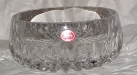 GORHAM Althea Cut Crystal Large Serving Bowl Germany Style # C164 Pristine - $21.78