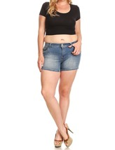 Plus Size Shorts, Plus Size Jean Shorts, Plus Size Denim Shorts, Womens