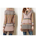Anthropologie Satpura Sweater Coat Sz XS - By Angel of the North - NEW -... - $195.49