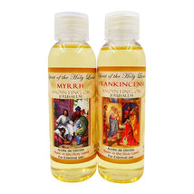 Blessed Jerusalem Frankincense and Myrrh Anointing Oil From Israel HolyL... - $12.18