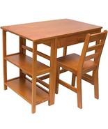 Lipper International 584P Child's Work Station Desk and Chair, Pecan Finish - $265.47