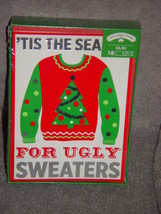 'Tis The Season For Ugly Sweaters Holiday Time 18 Cards & Envelopes - $6.00