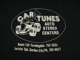Vintage 80's Original Sleeveless Car Tunes Auto Stereo Centers Repair T Shirt S - $20.05