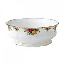 Royal Albert Old Country Roses Large Salad Serving Bowl Footed Brand New... - $167.46
