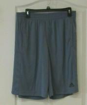 adidas Climalite 10-in inseam Active Short  RAWSTE (Blue)  Men's  Sz L NWT - $25.74