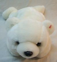 "TY Beanie Buddies SOFT WHITE POLAR BEAR 14"" Plush STUFFED ANIMAL Toy 1998 - $18.32"
