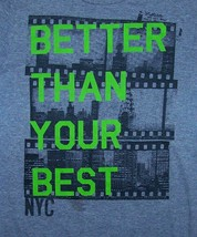 AEROPOSTALE / BETTER THEN YOUR BEST NYC / NEW YORK USA / GRAY T-SHIRT SI... - $14.99