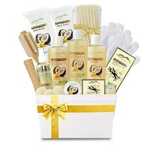 Premium Deluxe Bath & Body Gift Basket. Ultimate Large Spa Basket! #1 Spa Gift B - $64.89