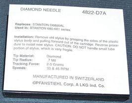 TURNTABLE NEEDLE STYLUS for Stanton 680  681 D6800AL D6807A 681AL 4822-D7A image 3