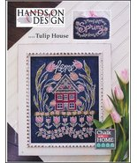 Tulip House Chalk for the Home Series cross sti... - $12.60