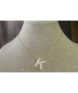 "Plunder Necklace (new) JORDAN K - ACRYLIC MARBLED MONOGRAM 18""-20""ADJ (P... - $18.11"