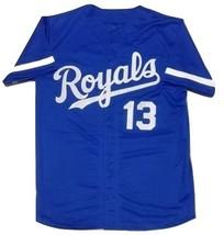 Custom Royals Blue Baseball Jersey Any Size Gift - $24.99