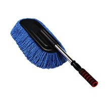 PANDA SUPERSTORE Cleaning Supplies Retractable Car Duster Dust Brush,Blue