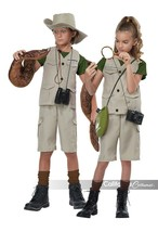 California Costumes Wild Life Expert Archaeologist Child Halloween Costu... - $43.70