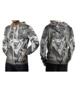 Baphomet Hail Satanic Hoodie Zipper For men - $49.99+