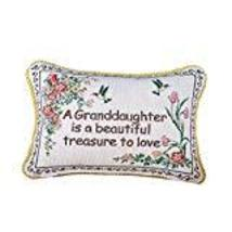 Granddaughter Floral Tapestry Throw Pillow - $15.99