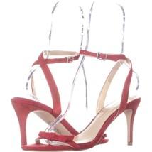 Jessica Simpson Purella Heeled Sandals 192, Ruby, 7.5 US - $20.15