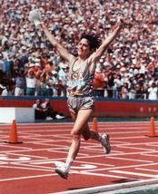 Joan Benoit Olympics SA Vintage 28x35 Color Track and Field Memorabilia ... - $45.95
