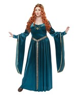 PLUS SIZE - Womens Lady Guinevere Queen Renaissance Dress Halloween Costume - $42.99