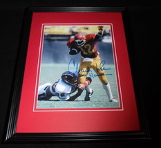 Charles White Signed Framed 8x10 Photo USC Browns Rams B - $60.41