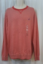Nautica Mens Sweater Sz S Lobster Multi Striped Cotton Blend Casual Sweater - $25.26