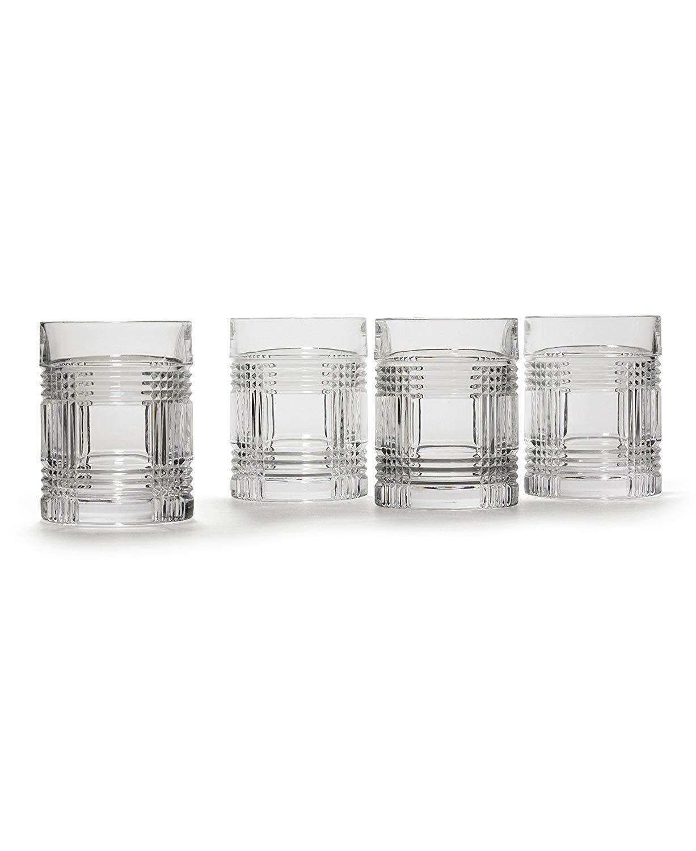 Ralph Lauren Glen Plaid Double Old Fashioned Glasses 4