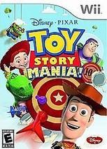Toy Story Mania (Nintendo Wii, 2009) Video Game Complete Disney Pixar - $16.22